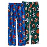 Boys 8-20 Up-Late 2-Pack All Sport Pajama Pants