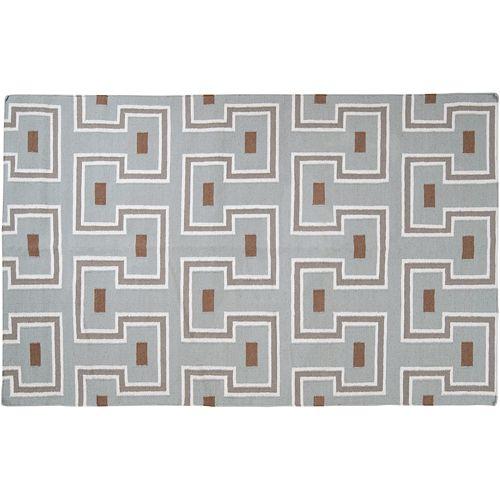 Artisan Weaver Bremerton Geometric Reversible Wool Rug