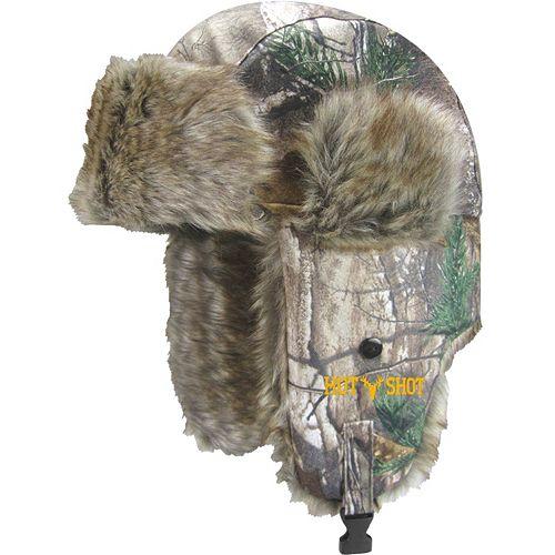 090afa890 Hot Shot Realtree Sabre Brushed Tricot Trapper Hat - Men