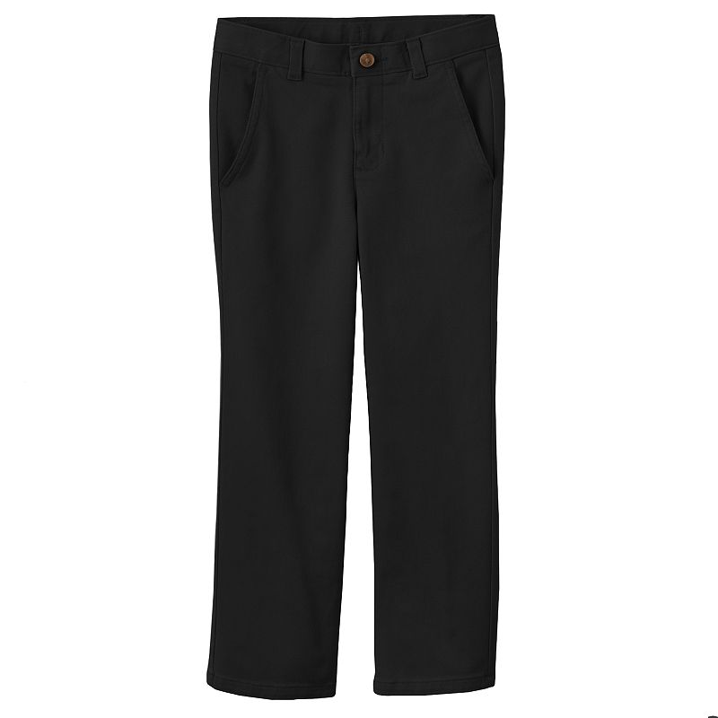 Chaps Flat Front Twill Pants - Boys 4-7