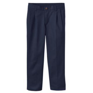 Boys 4-7 Chaps School Uniform Pleated Pants
