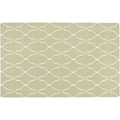 Artisan Weaver Bristow Lattice Reversible Wool Rug