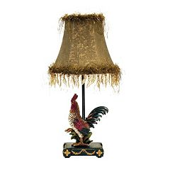 Dimond Rooster Table Lamp