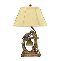 Dimond Twin Parrots LED Table Lamp