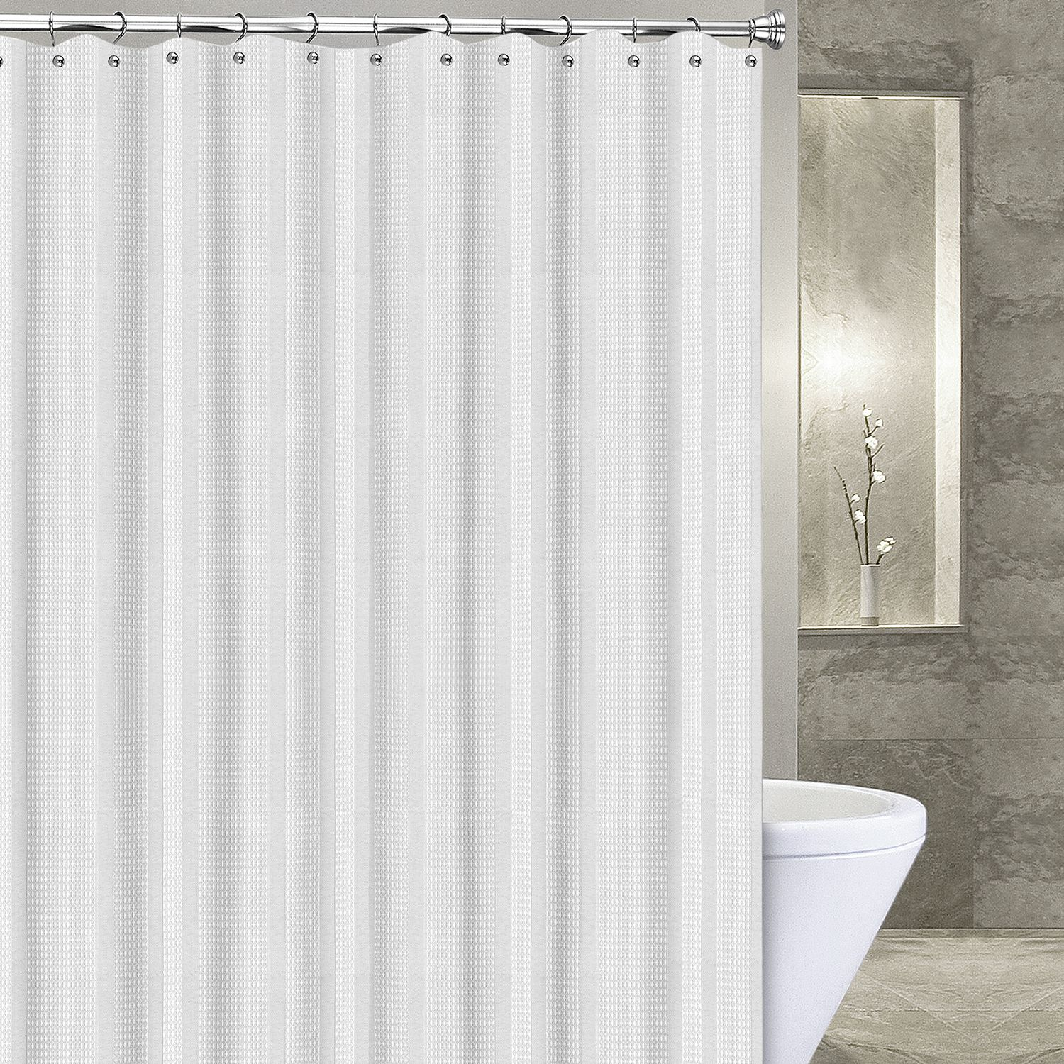 White Shower Curtains Shower Curtains Accessories Bathroom