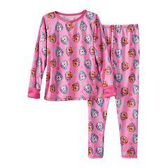 Toddler Girl Paw Patrol Skye & Everest Comfortech Long Underwear Set by Cuddl Duds