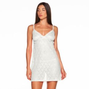 Women's COSABELLA Amore Adore Sheer Lace Babydoll Chemise