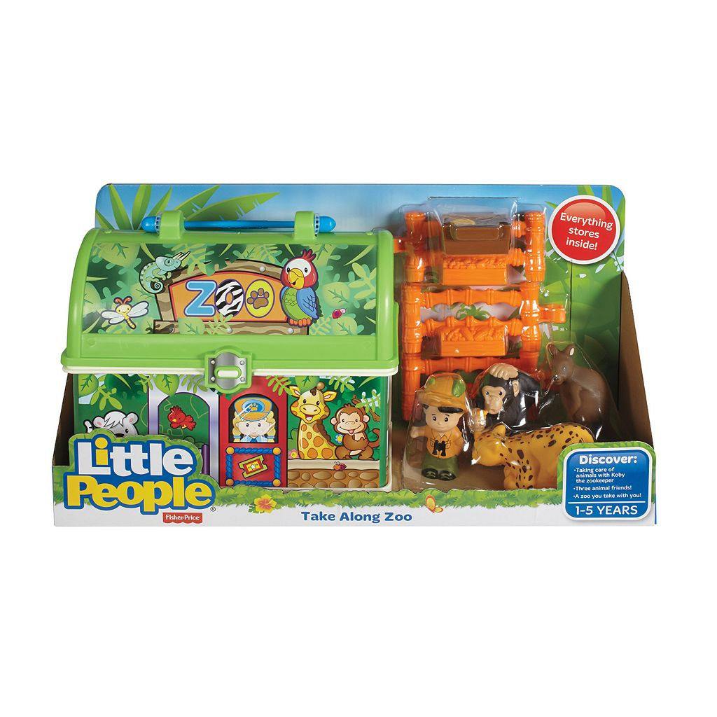 Fisher-Price Little People Take-Along Zoo