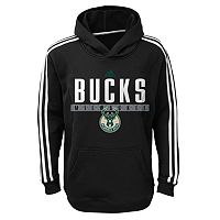 Boys 8-20 adidas Milwaukee Bucks Playbook Hoodie
