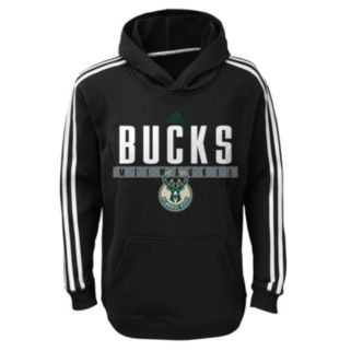 Boys 8-20 adidas Milwaukee Bucks Playbook Hoodie
