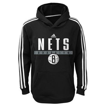 Boys 8-20 adidas Brooklyn Nets Playbook Hoodie