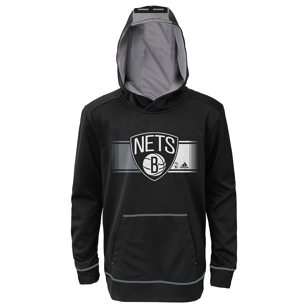 Boys 8-20 adidas Brooklyn Nets Pullover Hoodie