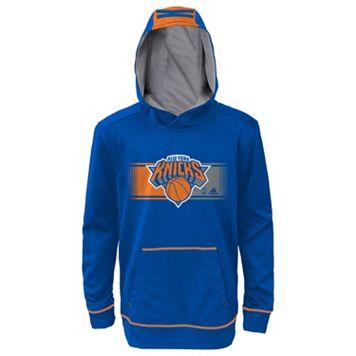 Boys 8-20 adidas New York Knicks Pullover Hoodie