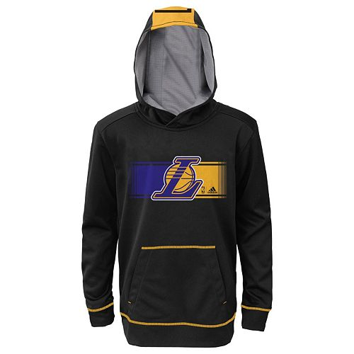hot sales new photos 100% authentic Boys 8-20 adidas Los Angeles Lakers Pullover Hoodie