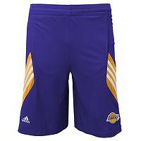 Boys 8-20 adidas Los Angeles Lakers Prestige Shorts
