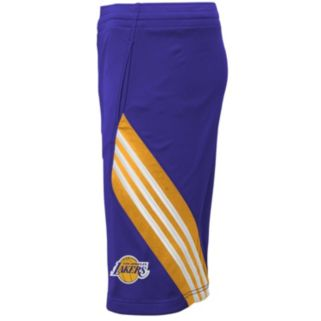 Boys 8-20 adidas Los Angeles Lakers Prestige Shorts