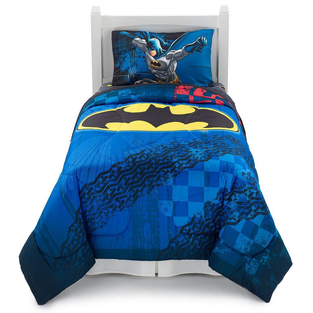 Batman Guardian Speed Reversible Bed Set