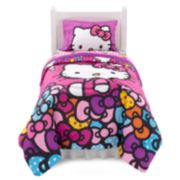 Hello Kitty® What's Not To Love Reversible Bed Set