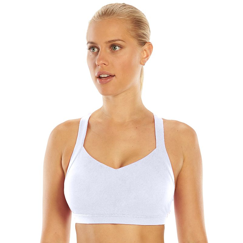Tek Gear® Bra: Criss-Cross Low-Impact Sports Bra