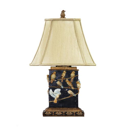 Dimond Birds On Branch LED Table Lamp