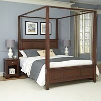 Home Styles 3 pc Chesapeake Nightstands Bedroom Set