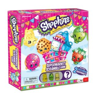 Shopkins Supermarket Scramble Game by Pressman