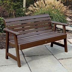 highwood Weatherly 4 Ft. Garden Bench