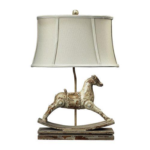 Dimond Carnavale Rocking Horse Table Lamp