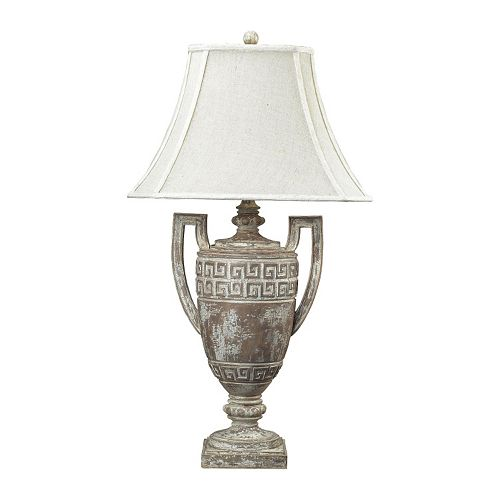 Dimond Greek Key LED Table Lamp