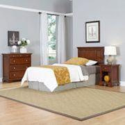 Home Styles 3 pc Chesapeake Twin Bedroom Set
