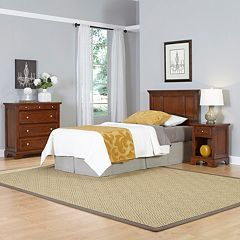 Home Styles 3 pc Chesapeake Twin Bedroom Set