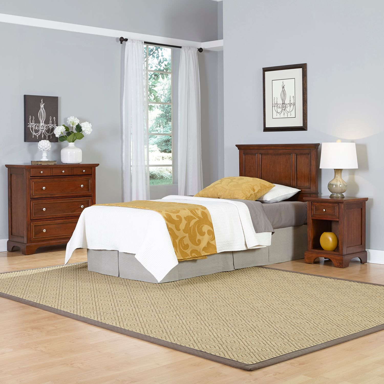 Cool Home Styles piece Chesapeake Twin Bedroom Set