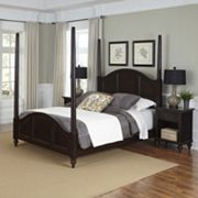 Home Styles 3 pc Bermuda Poster Bedroom Set
