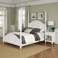 Home Styles 3-piece Bermuda Poster Bedroom Set