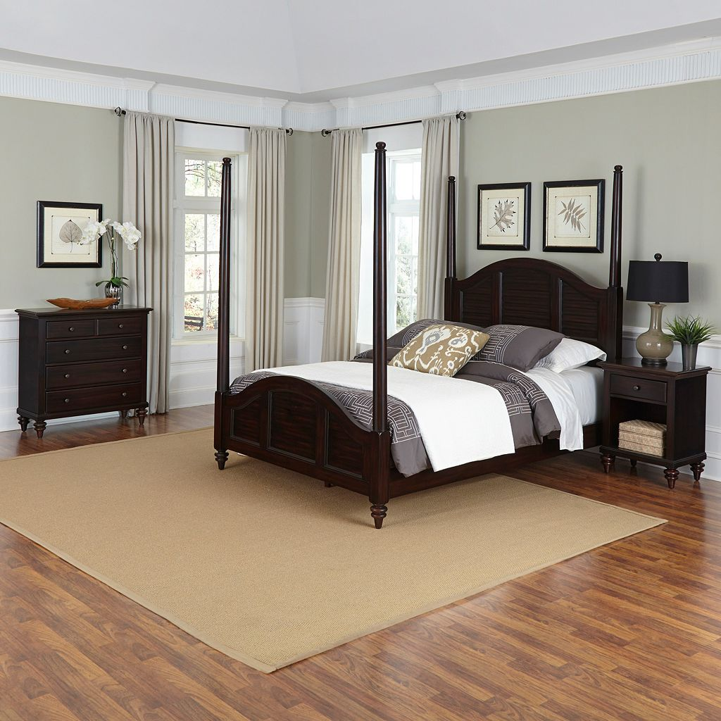 Home Styles Bermuda 3-piece Bedroom Set