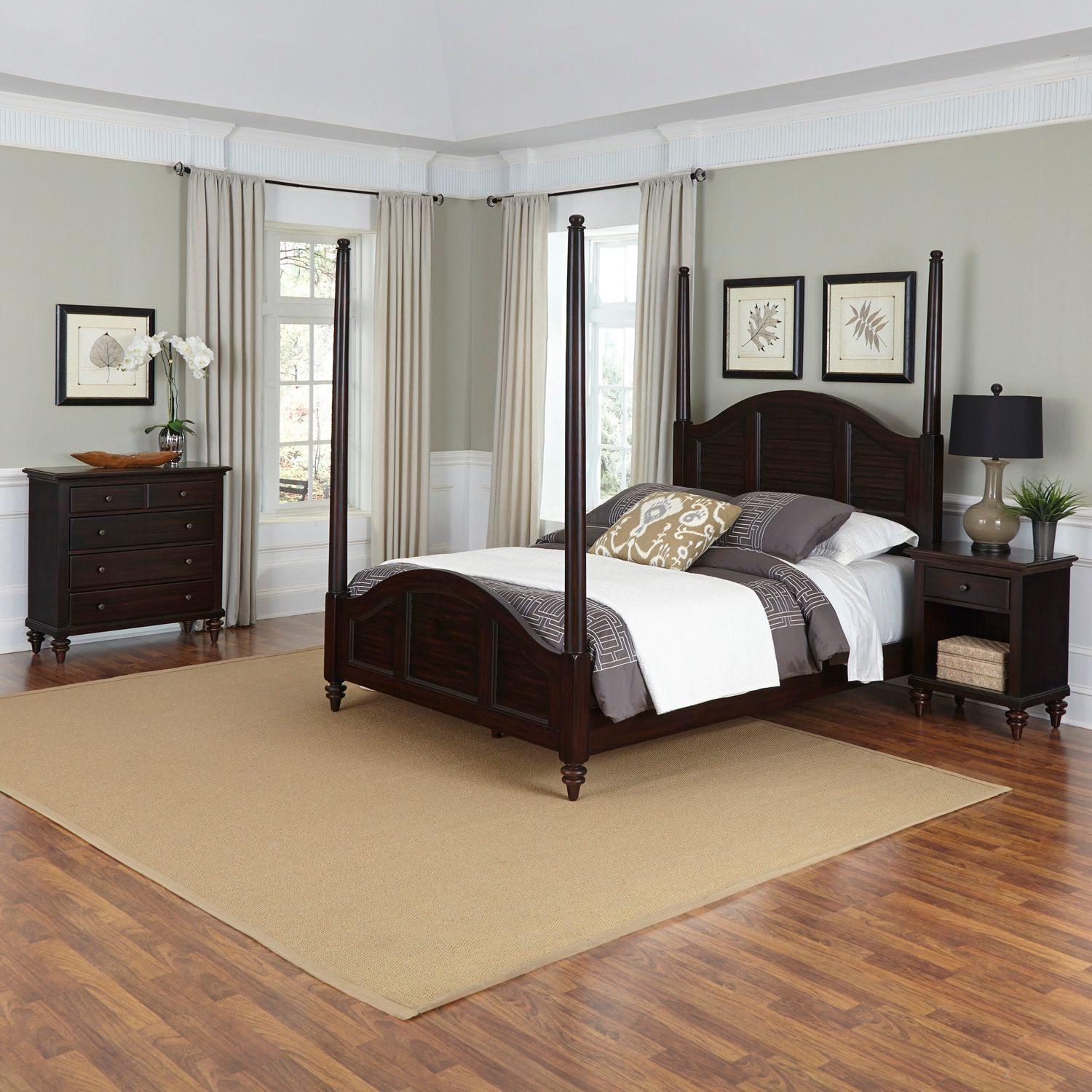 Fancy Home Styles Bermuda piece Bedroom Set