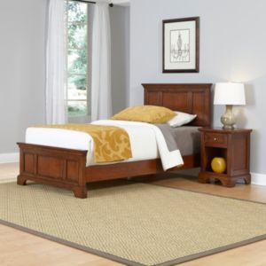 Home Styles 2-piece Chesapeake Twin Bed Frame and Nightstand Set