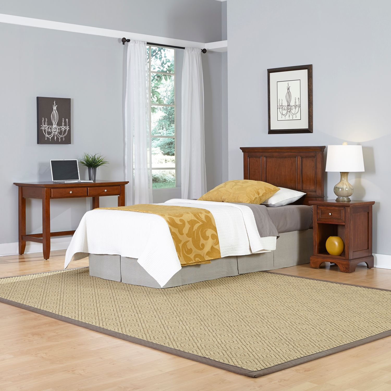 Popular Home Styles piece Chesapeake Twin Bedroom Set