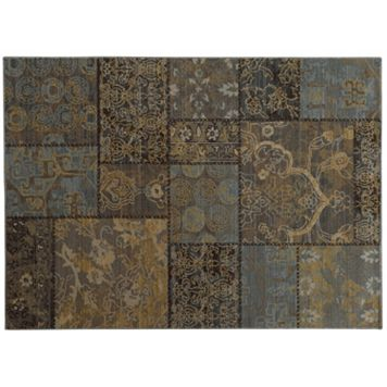 StyleHaven Legacy Patchwork Wool Rug - 9'10'' x 12'10''