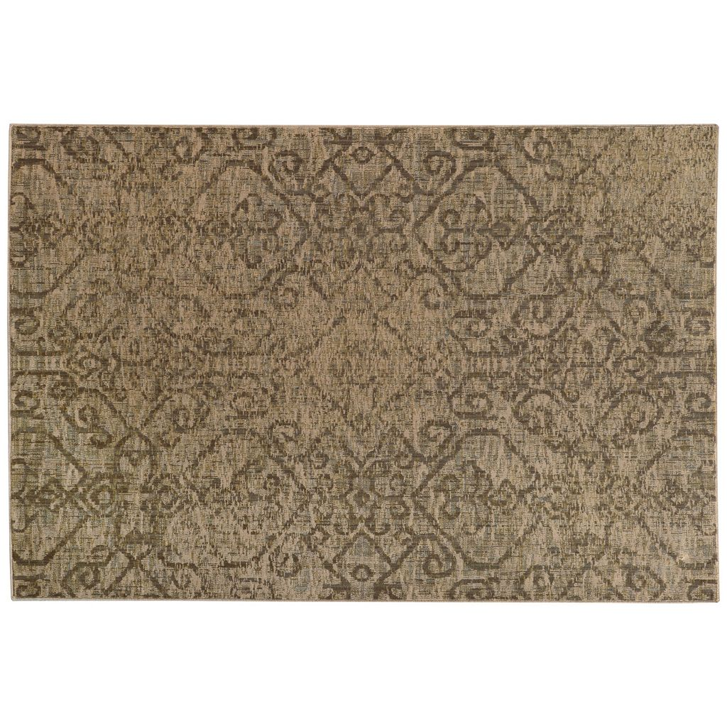 StyleHaven Legacy Traditional Faded Ikat Wool Rug - 9'10'' x 12'10''