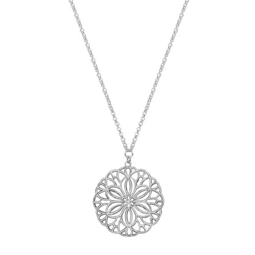 Lc Lauren Conrad Flower Pendant Necklace by Kohl's