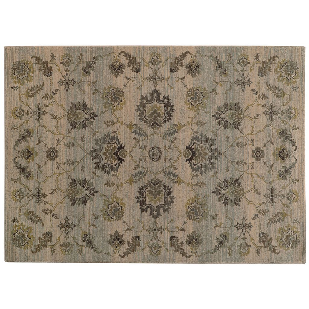 StyleHaven Legacy Floral Wool Rug - 9'10'' x 12'10''