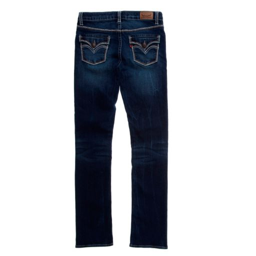 Girls 7-16 Levi's 711 Thick Stitch Taryn Faded Skinny Jeans