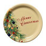 "Fiesta ""Merry Christmas"" 9-in. Buffet Plate"