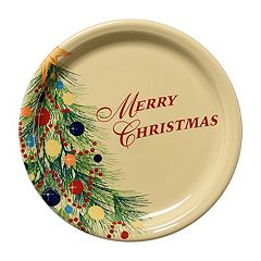 Fiesta 'Merry Christmas' 9-in. Buffet Plate