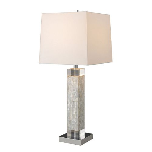 Dimond Luzerne Mother Of Pearl LED Table Lamp
