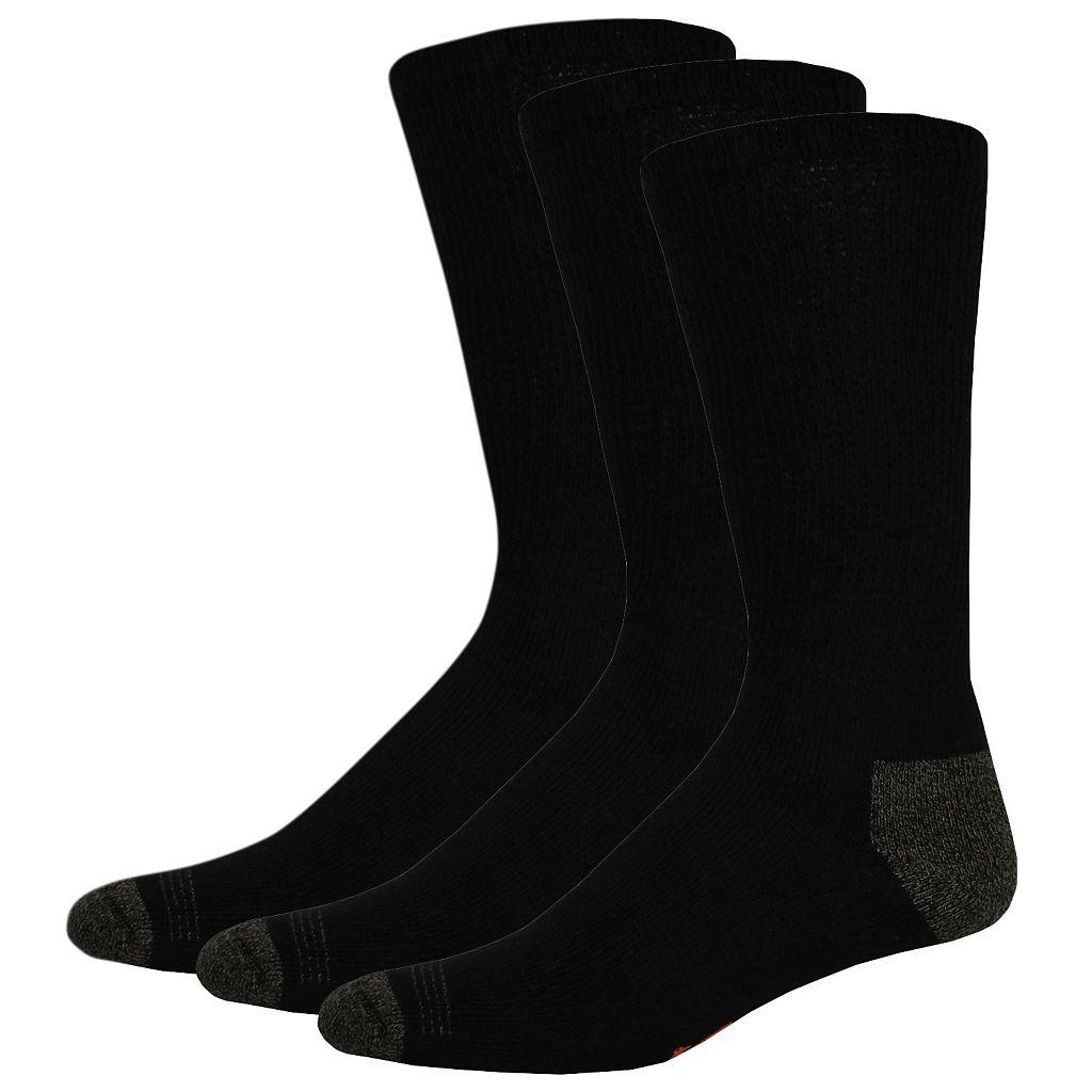 Men's Dockers® 3-Pack Non-Binding Casual Crew Socks