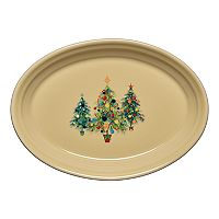 Fiesta 9-in. Christmas Tree Trio Serving Platter