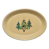 Fiesta 9-in. Christmas Tree Trio Serving Platter