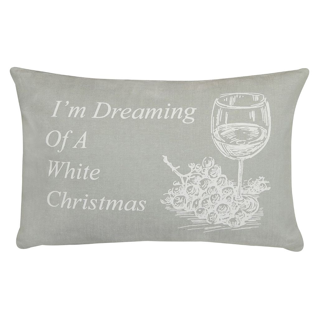 Park B. Smith ''Dream Christmas'' Throw Pillow